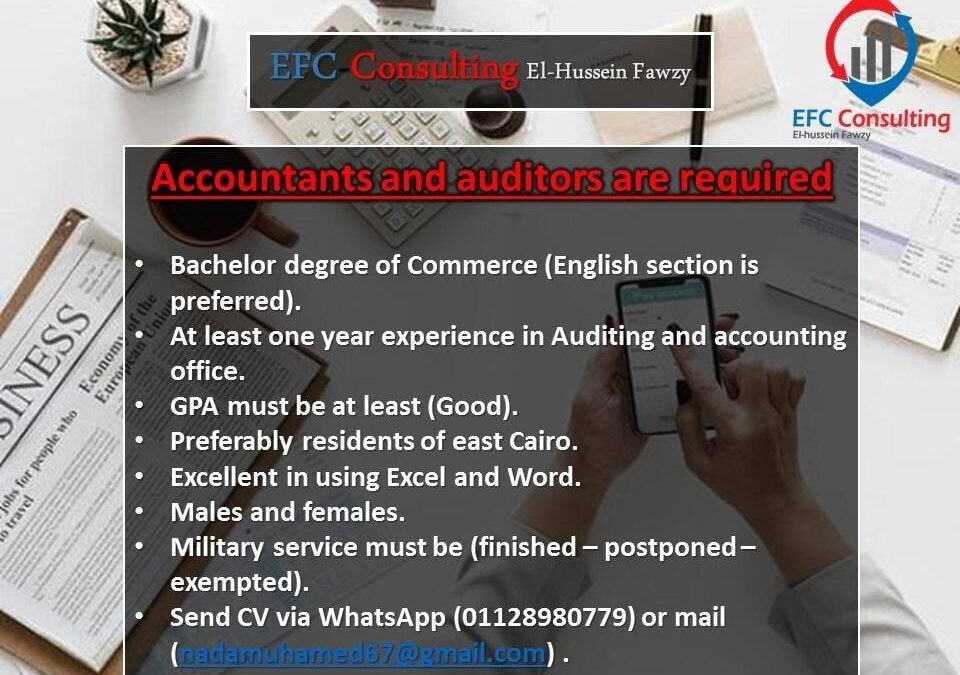 Accountant & Auditor jobs June 2020
